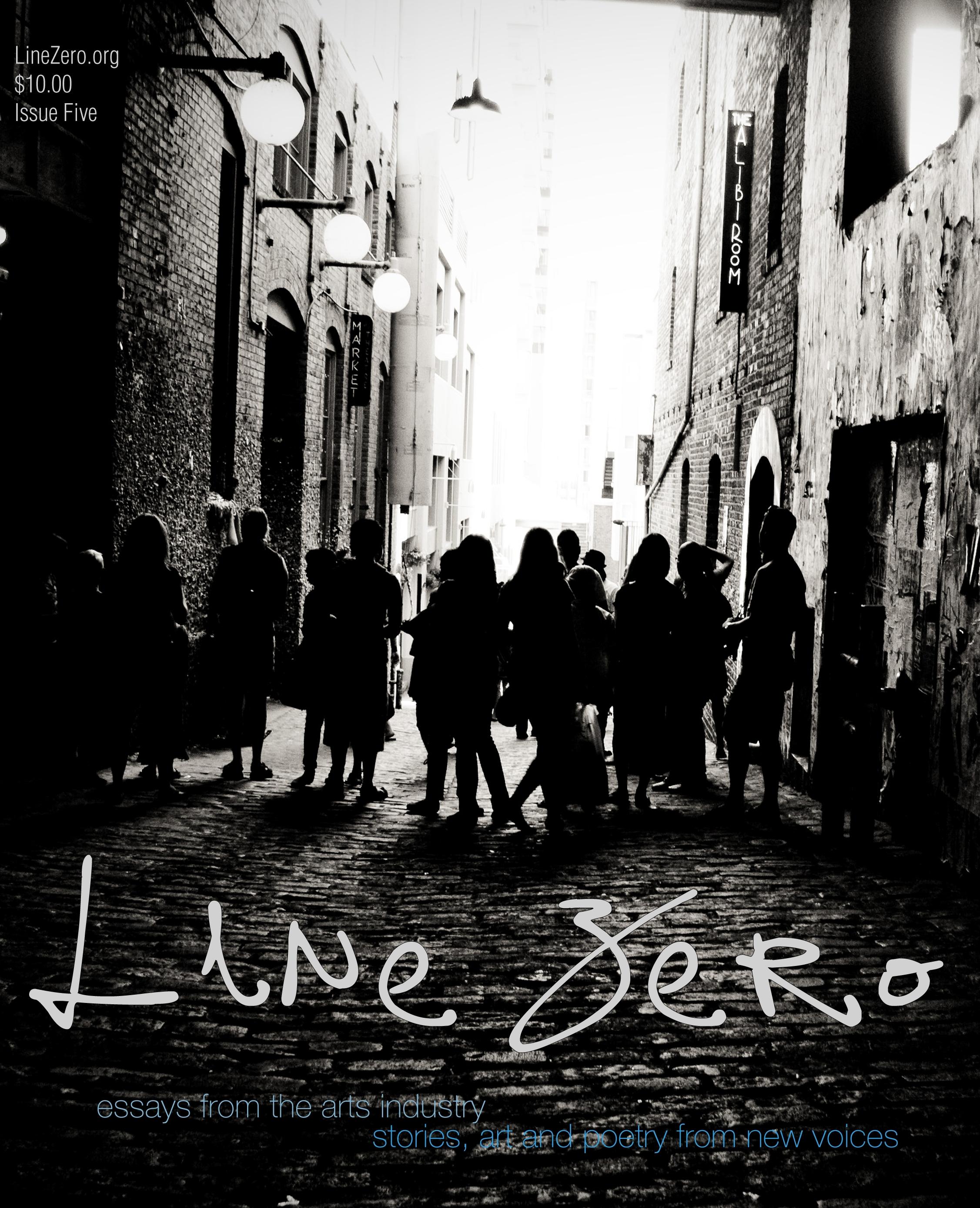 Line Zero, volume 2, issue 1