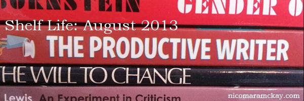 Shelf Life: August 2013