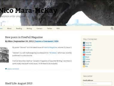 Nico 2013 Site Design