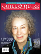 Quill & Quire, September 2013