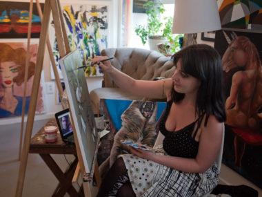 Rachel SV Parry - The Artist