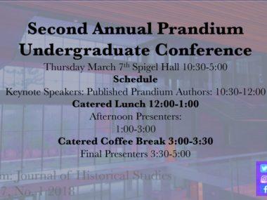 Second Annual Prandium Conference 2019