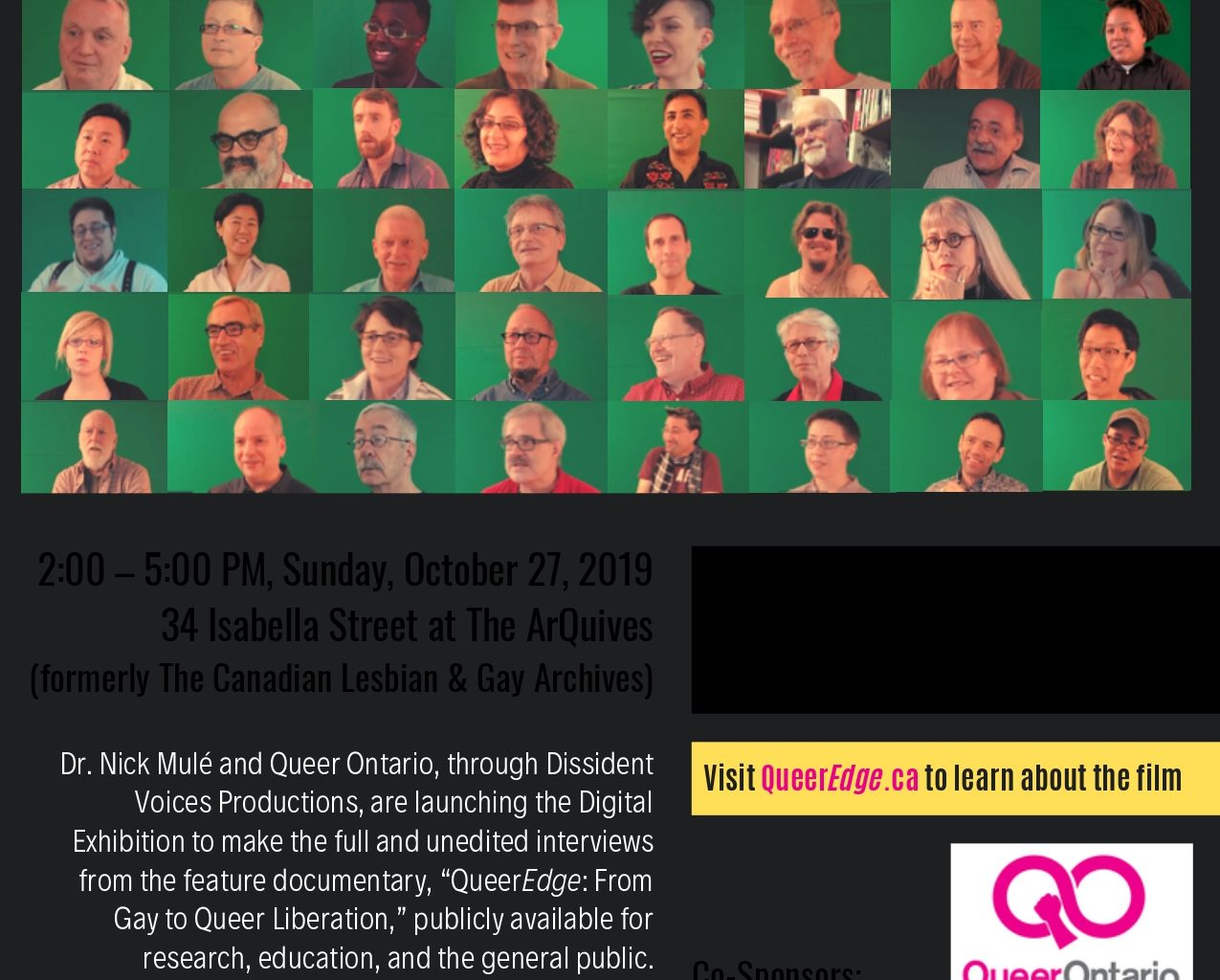 Queer Liberation Theory Project event poster