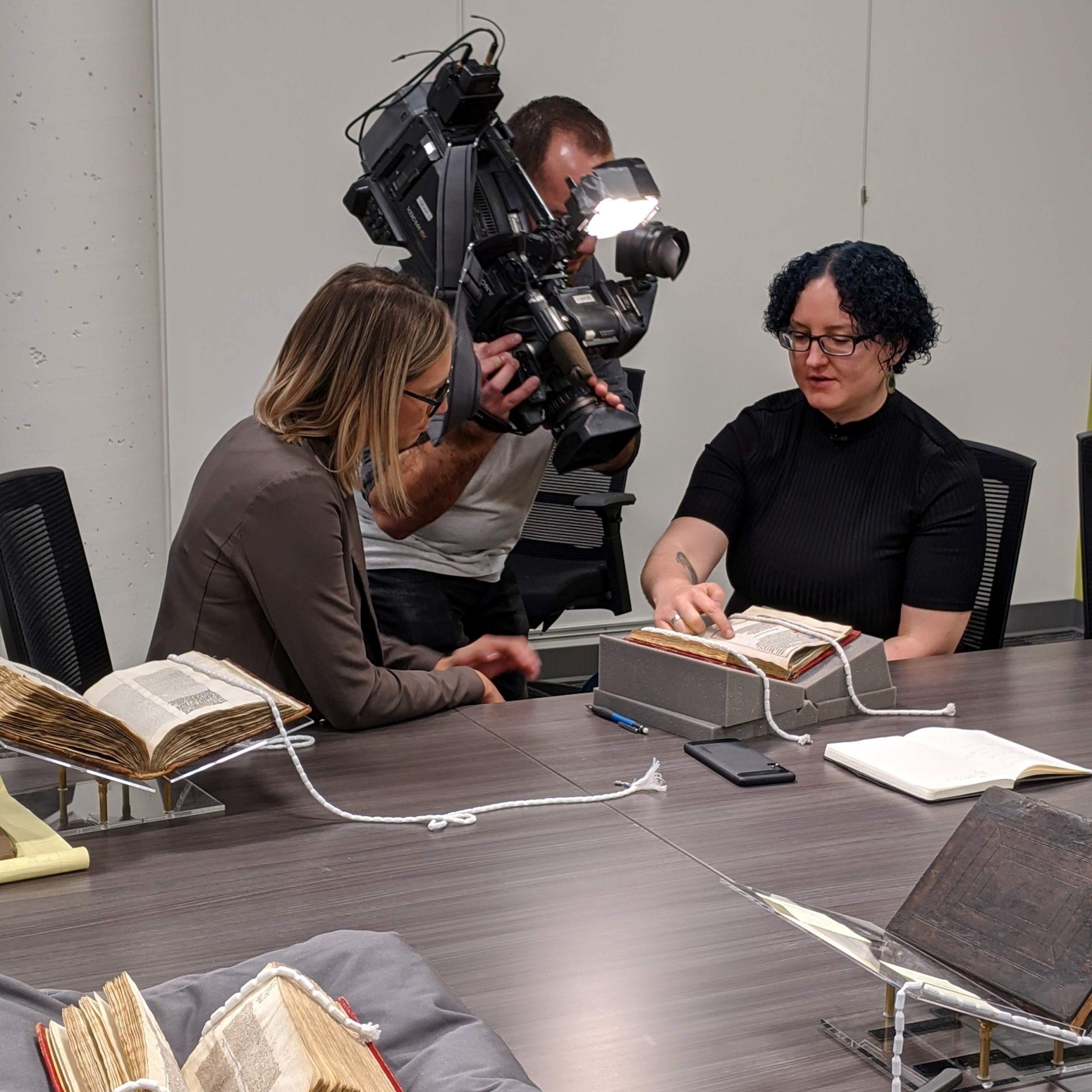 Nico Mara-McKay interviewed by CTV Kitchener